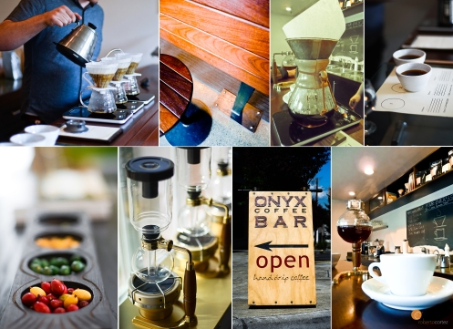 onyx coffee bar collage